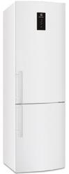 Холодильник с морозильником ELECTROLUX EN93452JW белый