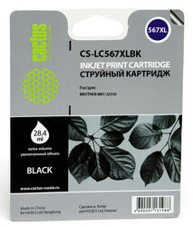 Картридж струйный Cactus CS-LC567XLBK