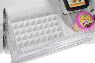 Холодильник с морозильником Candy CKBF 6180 S серебристый