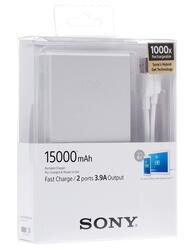 Портативный аккумулятор SONY СP-S15S серебристый