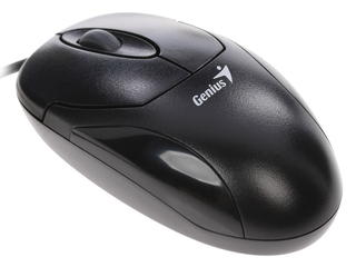 Мышь проводная Genius XScroll Optical черный