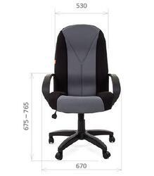 Кресло офисное Chairman 785 черный