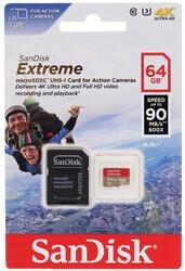 Карта памяти SanDisk EXTREME microSDXC 64 Гб