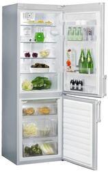 Холодильник с морозильником WHIRLPOOL WBE 3375 NFC TS серебристый