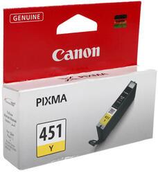 Картридж струйный Canon CLI-451Y
