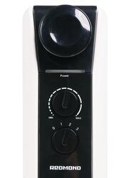 Масляный радиатор Redmond ROH-4514-9 белый