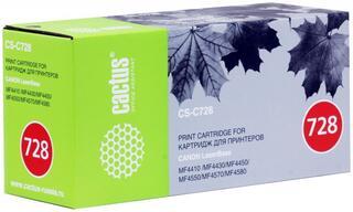 Картридж лазерный Cactus CS-C728S
