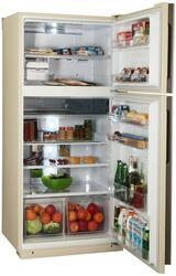 Холодильник с морозильником Sharp SJ-XE55PMBE бежевый