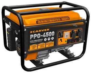Бензиновый электрогенератор Carver PPG- 4500