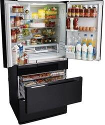 Холодильник Hitachi R-E 6800 U XK черный