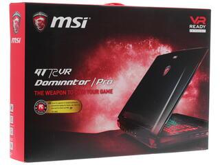 """17.3"""" Ноутбук MSI GT72VR 6RE-088RU DOMINATOR PRO черный"""