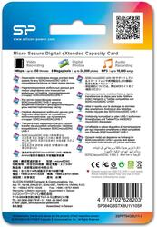 Карта памяти Silicon Power Elite microSDXC 64 Гб