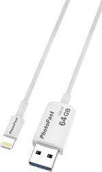 Память OTG USB Flash PhotoFast Photo Backup Cable U3  64 Гб