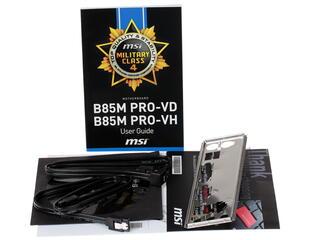 Материнская плата MSI B85M PRO-VD