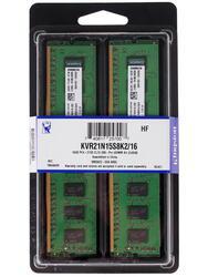 Оперативная память Kingston [KVR21N15S8K2/16] 16 Гб