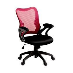 Кресло офисное COLLEGE HLC-0758F черный/красный