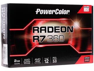 Видеокарта PowerColor AMD Radeon R7 360 [AXR7 360 2GBD5-DHE]