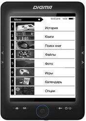 6'' Электронная книга Digma R658 черный