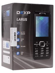 Сотовый телефон DEXP Larus M6 белый