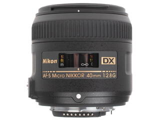 Объектив Nikon AF-S DX 40mm F2.8 G ED Micro-Nikkor