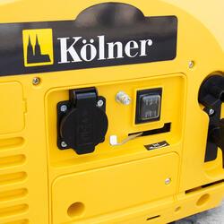 Бензиновый электрогенератор Kolner КGEG 900M
