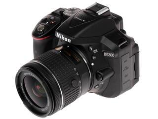 Зеркальная камера Nikon D5300 Kit 18-55mm AF-P II черный