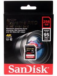 Карта памяти SanDisk Extreme PRO SDSDXPA-256G-G46 SDXC 256 Гб