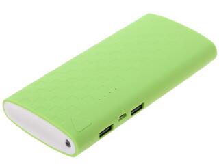 Портативный аккумулятор iconBIT FTB10000DS белый, зеленый