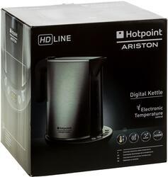Электрочайник Hotpoint-ariston WK 24E AХ0 серебристый
