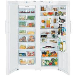 Холодильник Liebherr SBS 7252-24 белый