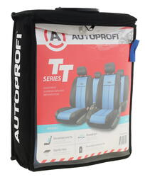 Чехлы на сиденье AUTOPROFI TT-902P синий