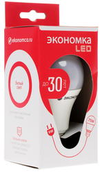 Лампа светодиодная Экономка LED 9w A60 E2745