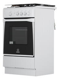 Газовая плита INDESIT KN1G27(W)/RU белый, серебристый