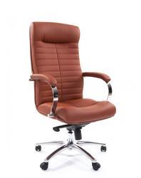 Кресло офисное Chairman 480 коричневый