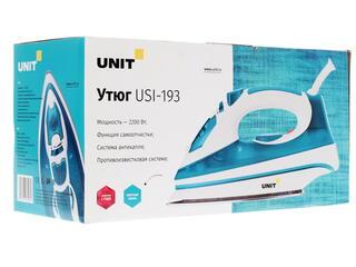 Утюг UNIT USI-193 голубой
