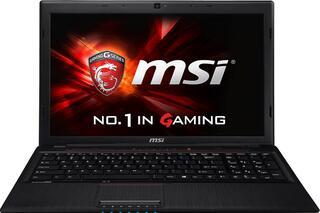 "15.6"" Ноутбук MSI GP60 2QF-1065XRU черный"