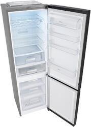 Холодильник с морозильником LG GA-B489TGLB черный