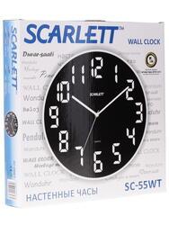 Часы настенные Scarlett SC - 55WT