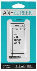 "5""  Пленка защитная для смартфона ZTE Blade A476"