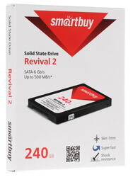 240 ГБ SSD-накопитель Smartbuy Revival 2 [SB240GB-RVVL2-25SAT3]