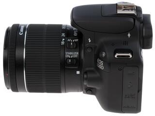 Зеркальная камера Canon EOS 100D Kit 18-55mm IS STM + 10-18mm IS STM черный