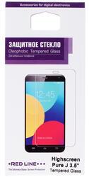 "3.5"" Защитное стекло для смартфона Highscreen Pure J"