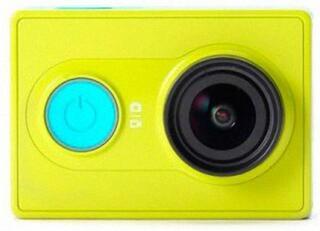 Экшн видеокамера XIAOMI YI Travel зеленый, голубой
