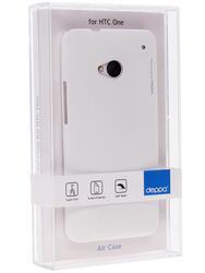Накладка + защитная пленка  Deppa для смартфона HTC One