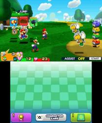 Игра для 3DS Mario & Luigi: Paper Jam Bros