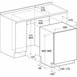 Встраиваемая посудомоечная машина Midea М60ВD-1205L2