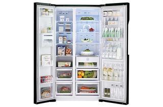 Холодильник LG GC-M237JGBM черный