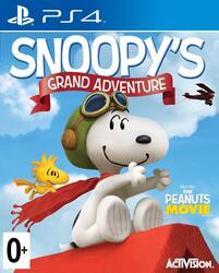 Игра для PS4 Снупи. Большое приключение