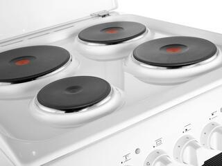 Электрическая плита INDESIT KN1E17(W) белый