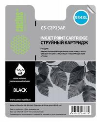 Картридж струйный Cactus CS-C2P23AE №934XL